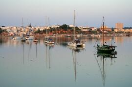 Alvor seen from the Ria (Complex on the right corner)