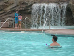 Property Photo: Waterfall in Main Oceanfront Seapointe Village pool