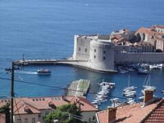 Property Photo: view to old port of old town of dubrovnik