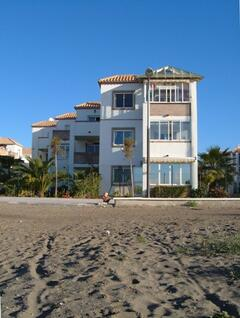 Property Photo: The Apartment view from beach