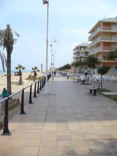 Guadamar beach front