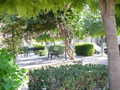 One of the many parks in Almoradi