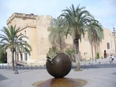 The old town in Elche