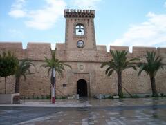 Castle in Santa Pola