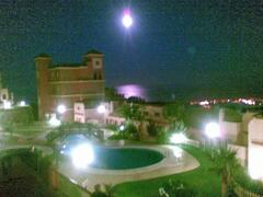 NIGHT VIEW FROM TERRACE