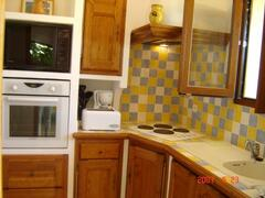 Property Photo: the fully equipped kitchen
