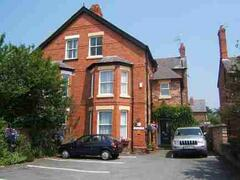 Property Photo: Front of B&B with car park