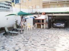 barbecue/private garage