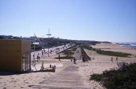 15km beach jogging track