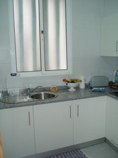 kitchen with window for better ventilation