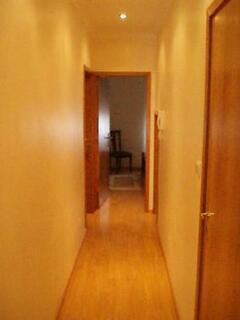 corridor to the sleeping rooms