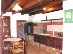 Property Photo: apt. Monika:kitchen with wood burning stove