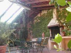 Angelika:patio with private bbq.