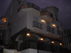 Rear elevation (night time)