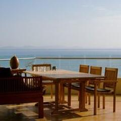 Property Photo: big balcony with  breathtaking  uninterrupted oceanview