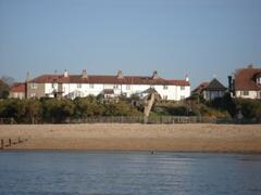 Property Photo: south side from The Solent