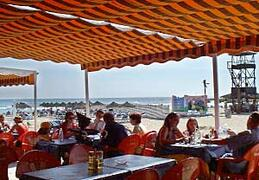 1 of many Beach bars on the beach