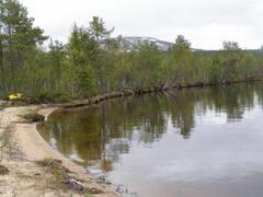 The lake in sumeer