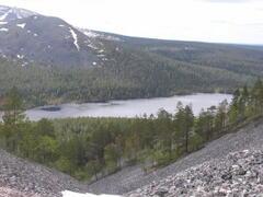 Yllas fell and Kesanki lake