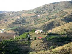 the house in the mountain side