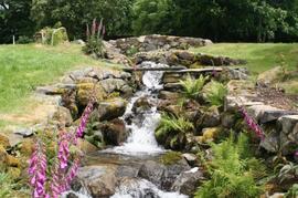 Stream in Farmyard