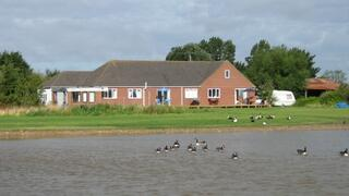 Private Lake and farmhouse