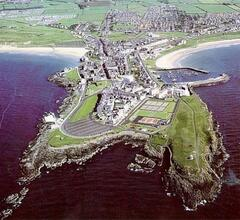 View of Portrush from the air