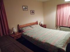 very spacious double bedroom