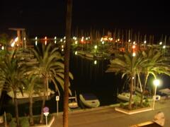 Night view from our balcony