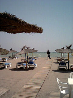 Local beach bar 100yds