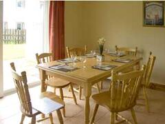 Dining Room with Table and Chairs for Six