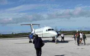 Continental Airlines into New Bight Airport (TBI)