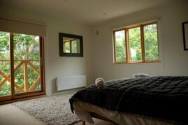 Country Resort Chalet Master Bedroom