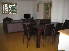 Country Resort Chalet Dining Area