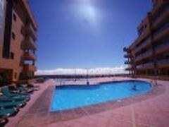 Property Photo: Immaculate pool area overlooking Atlantic