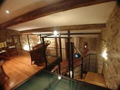 Property Photo: Mezzanine looking down to living area