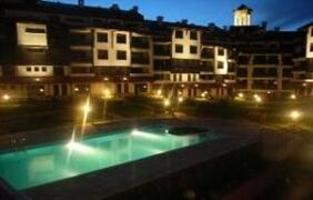 Property Photo: Bansko Royal Towers at Night - Indoor and Outdoor Pools, SPA