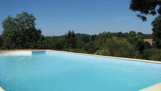 Heated swimming pool, Midi Pyrenees