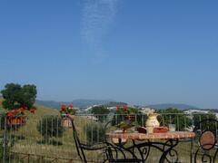 the terrace in apt Terrazza