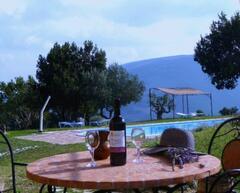 outdoor terrace of Tramonto
