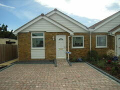Property Photo: front view of Bungalow two parking bays