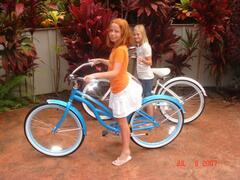 4 Bikes for cruising the island