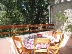 Property Photo: Des Arbres relaxing terrace