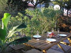 Property Photo: La Vigne terrace