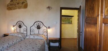 Castagno Apartment's bedroom