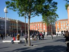 Property Photo: Place Massena Nice's central 17th Century Square 45 yards from beach
