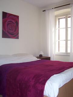 Clean, bright bedrooms as standard