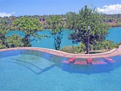 Spectacular view and huge pool
