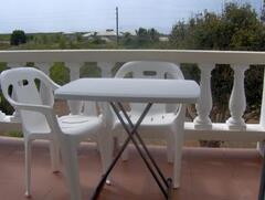 Your private balcony overlooking the mountains of St.Maarten