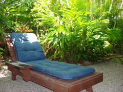 Lounger on your own secluded patio.